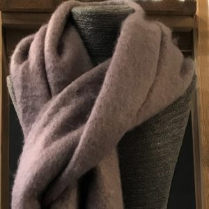 Luxurious Heather Tassle Scarf