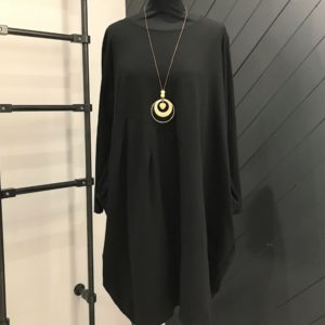 Chic Black Necklace Dress